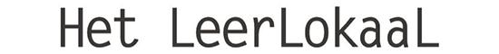 Het LeerLokaaL Logo